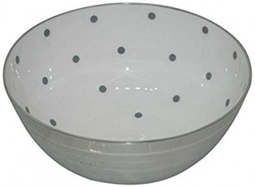 Polka Dot Large Bowl