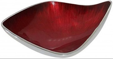 bowl-oval-red-brushed-enamel