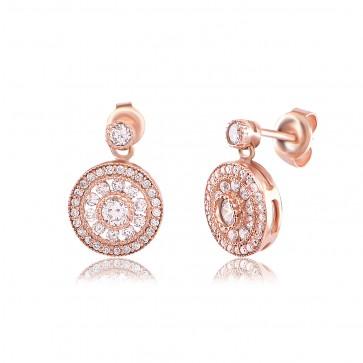 Mazali Stylish Earrings Rose Gold