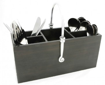 Elegant Swirl - Cutlery Holder