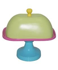 Cake stand     Yellow,Green,Pink,Aqua PC