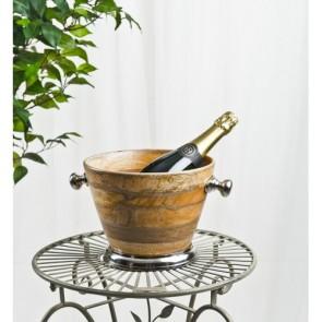 Wooden Ice Bucket 31 x 24.5 x 19cm