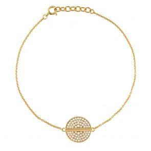 Mazali Ladies Bracelet Gold