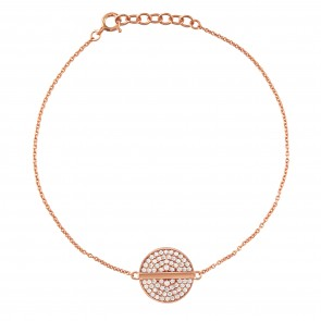 Mazali Ladies Bracelet Rose Gold