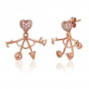 Mazali Funky Jewellery Rose Gold