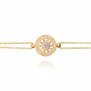 Mazali Exquisite Necklace Gold Pendant