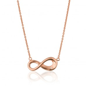 Mazali Stylish Necklace Rose Gold