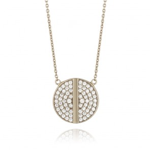 Mazali Web Pendant and Chain Silver