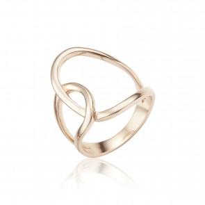 Mazali Fugure ring size 8 Rose Gold
