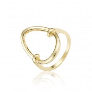 Mazali Fugure ring size 8 Gold