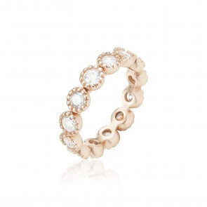 Mazali Diamond Ring Rose Gold