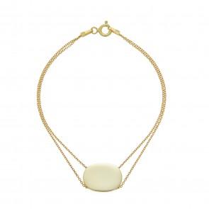 Mazali Tennis Bracelet Gold