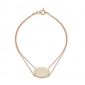 Mazali Tennis Bracelet Rose Gold
