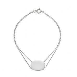 Mazali Tennis Bracelet Silver